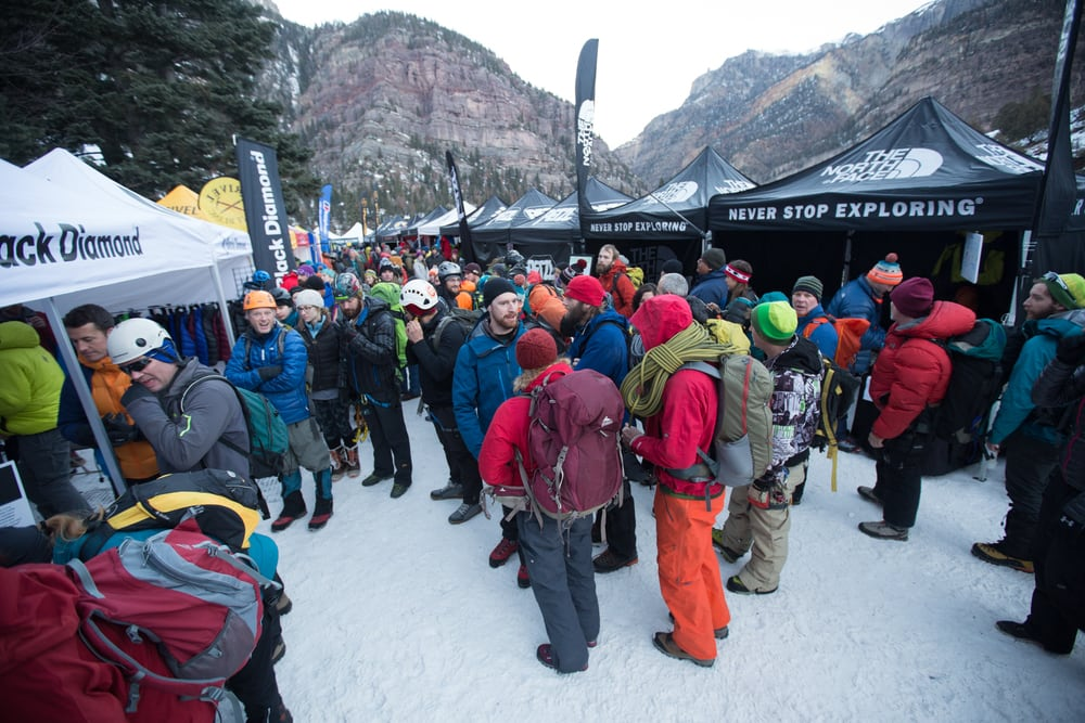The Ouray Ice Festiveal – January, 19th- 22nd for the 22nd in Ouray, Colorado