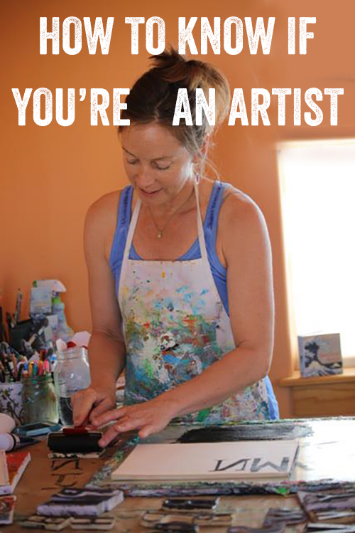 How to know if you're an artist