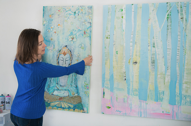 Buddha-and-Winter-Trees---Kellie-Day
