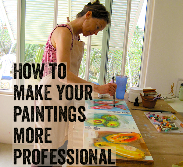how to make your paintings more professional