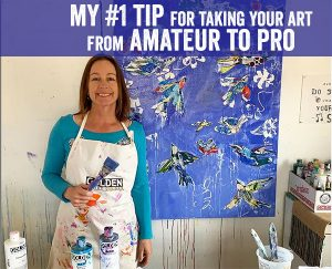my number one tip for going from amateur to professional artist