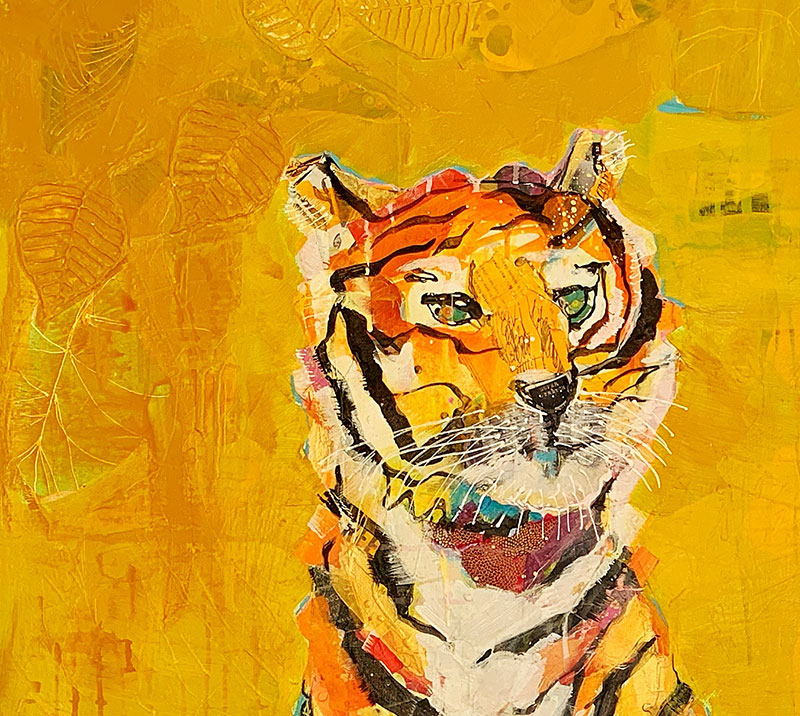 detail-of-Zen-TIger-painting-by-kellie-day