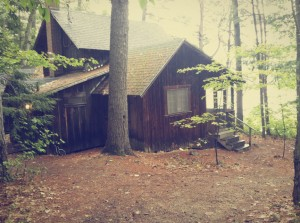 A classic cabin at SQUAM Lake
