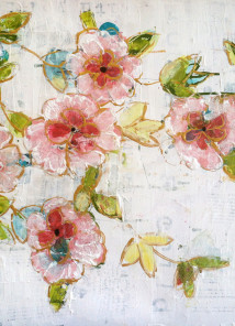 Summer Sheets. Steps to a Blissful Flower Painting