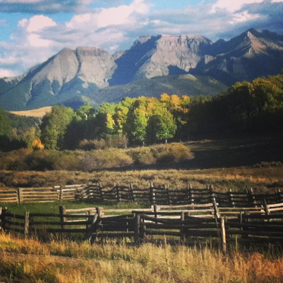 My home, my valley, the San Juan Mountains of sw Colorado