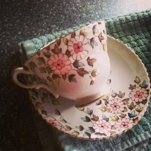 Granny's tea cups. One of many sets